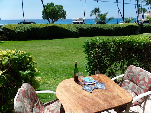 Deal--sparkling Studio. Kailua Kona's Best Beach. Swim-snorkel-bodysurf! Wifi
