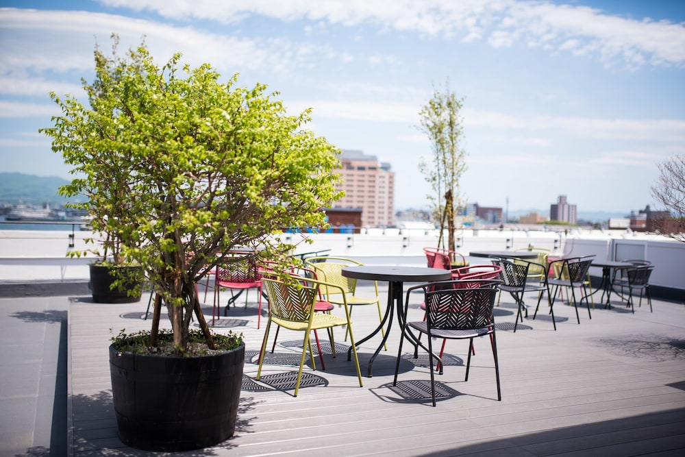 Outdoor Dining, HakoBA Hakodate by THE SHARE HOTELS