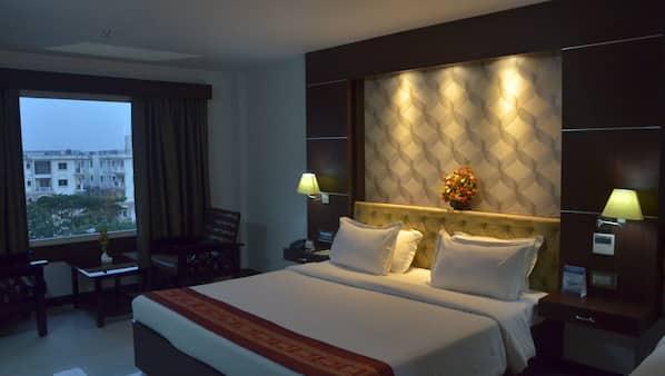 Egyptian cotton sheets, premium bedding, memory foam beds, desk
