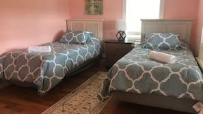 Premium bedding, free WiFi