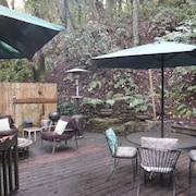 Redwood Mountain Hideaway in Felton Near Lake + Santa Cruz
