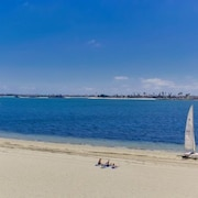 Mission Bay on Sand Panoramic View -upscale