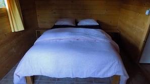 2 sovrum och mörkläggningsgardiner