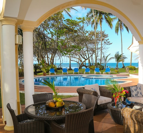 Magnificent Beachfront Luxury Villa in Secured Gated Community