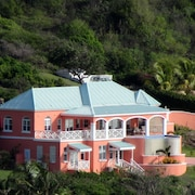 Luxury Villa, Panoramic Caribbean Views, Turtle Beach