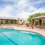 Hacienda With Views, Charm, Comfort and Quality Close to Town, 4 Acres on Ntl Pk