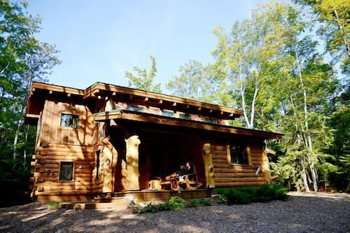Exterior, Stunning Door County Cabin In The Woods, Wi-fi, Firepit, Fireplace, Game Room