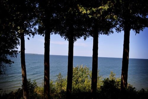 Beach, Stunning Door County Cabin In The Woods, Wi-fi, Firepit, Fireplace, Game Room