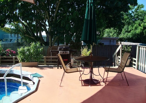 Key West Style With Pool and 2 Patios-great Location!1st Floor - 550sq Ft