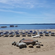 Newly Listed Traverse City Beach Getaway
