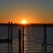 Gorgeous Sunsets!! Banks Channel Condo- Wrightsville Beach - Beach, Bike, Surf