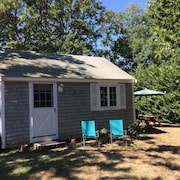 Brewster, MA Beach Cottage With 1/2 Mile of Private Beach for Your Enjoyment