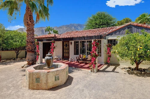 Designer Spanish Oasis Home - Featured in Palm Springs Living Book