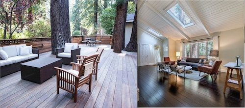 Midcentury Home In The Redwoods, 10 Mins Into Dwntwn MV, 15 Mins to SF