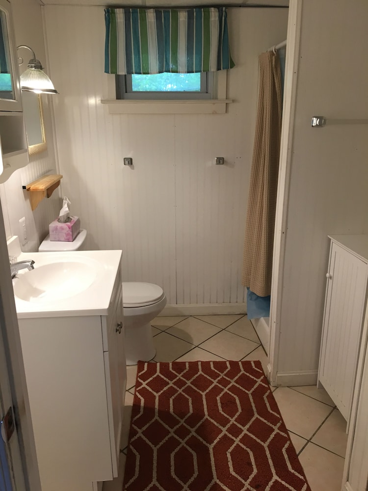 Bathroom, Don't miss out on the beach this summer! Grab a group of friends and come visit!