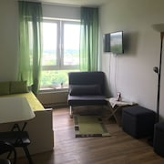 Mainz, Great Furnished 1 Room. Apartment to Feel Good