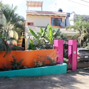 Spacious 1 Bedr. Apt. w. Roof Terrace, Walking Dist. to Sayulita Center & Beach