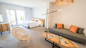 10 slaapkamers, luxe beddengoed, een kluis op de kamer