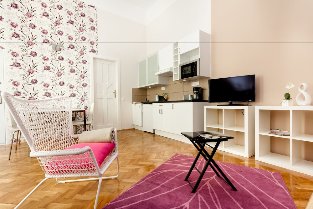 Living Area, Budapestay Apartments