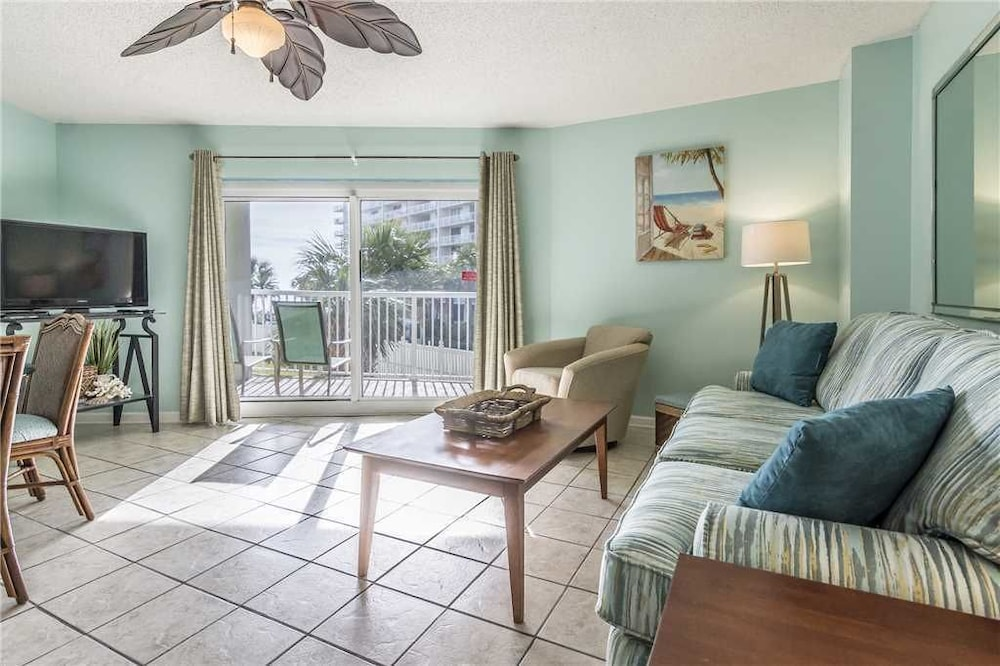 Living Area, Tradewinds 108 - 1 Br condo by RedAwning
