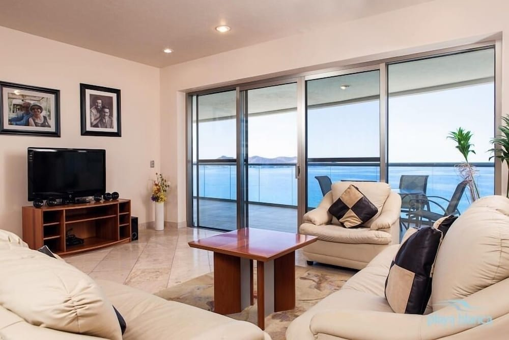 Living Room, 3 Bedroom  Playa Blanca 1009 Condo