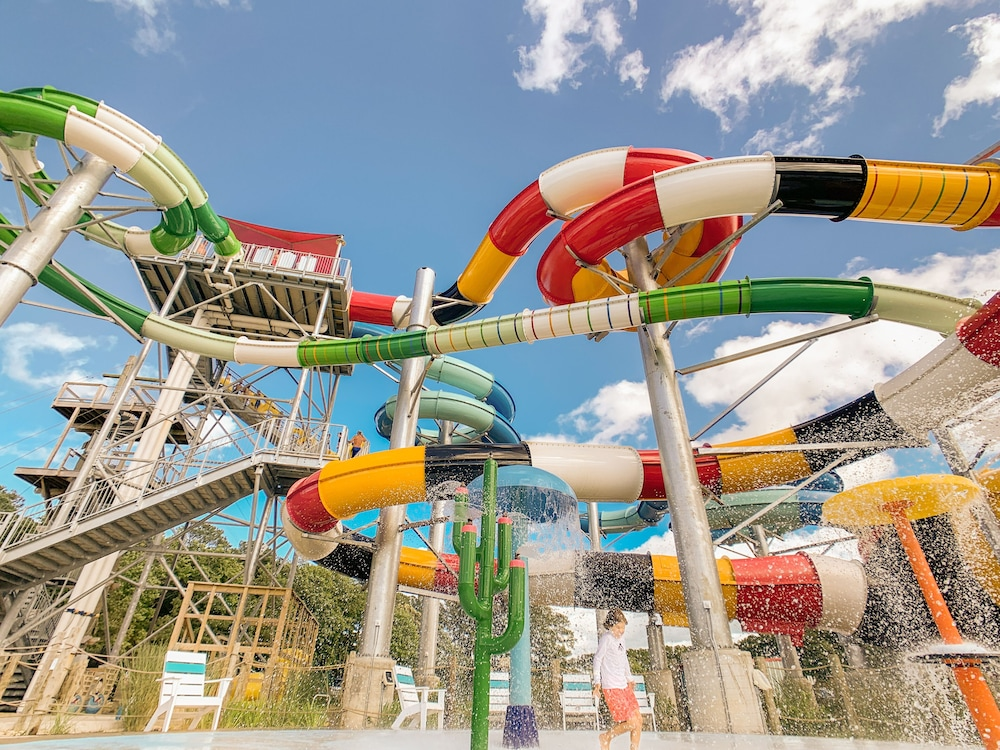 Waterslide, Frontier Town Campground