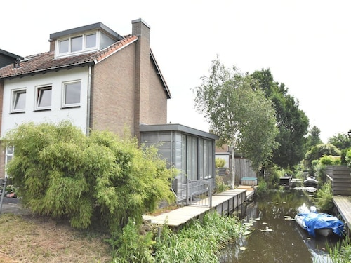 Bright House With Large Garden Near Beach, sea and Amsterdam
