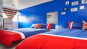1 bedroom, premium bedding, free WiFi