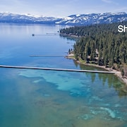 Modern New Lakefront Luxury In Tahoe City. Ski Squaw, Alpine, Homewood