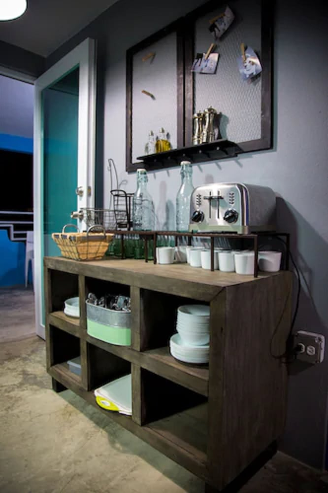 Shared Kitchen, Nomada Urban Beach Hostel - Adults Only