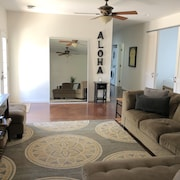 3 bed 2 Bath W/ac! Inquire for Special Pricing!! Short Walk to Beach!
