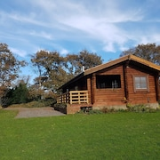 Authentic Timber Lodge Located in Heart of Devon at the Edge of Dartmoor