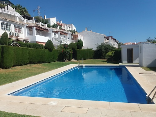 Townhouse With Pool in Cala del Moral 10 Minutes Walk From the Beach