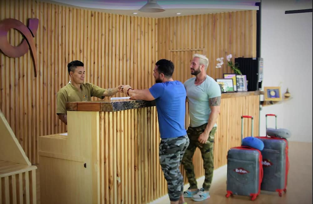Check-in/Check-out Kiosk, Alpha Gay Resort & Spa - Caters to Gay Men