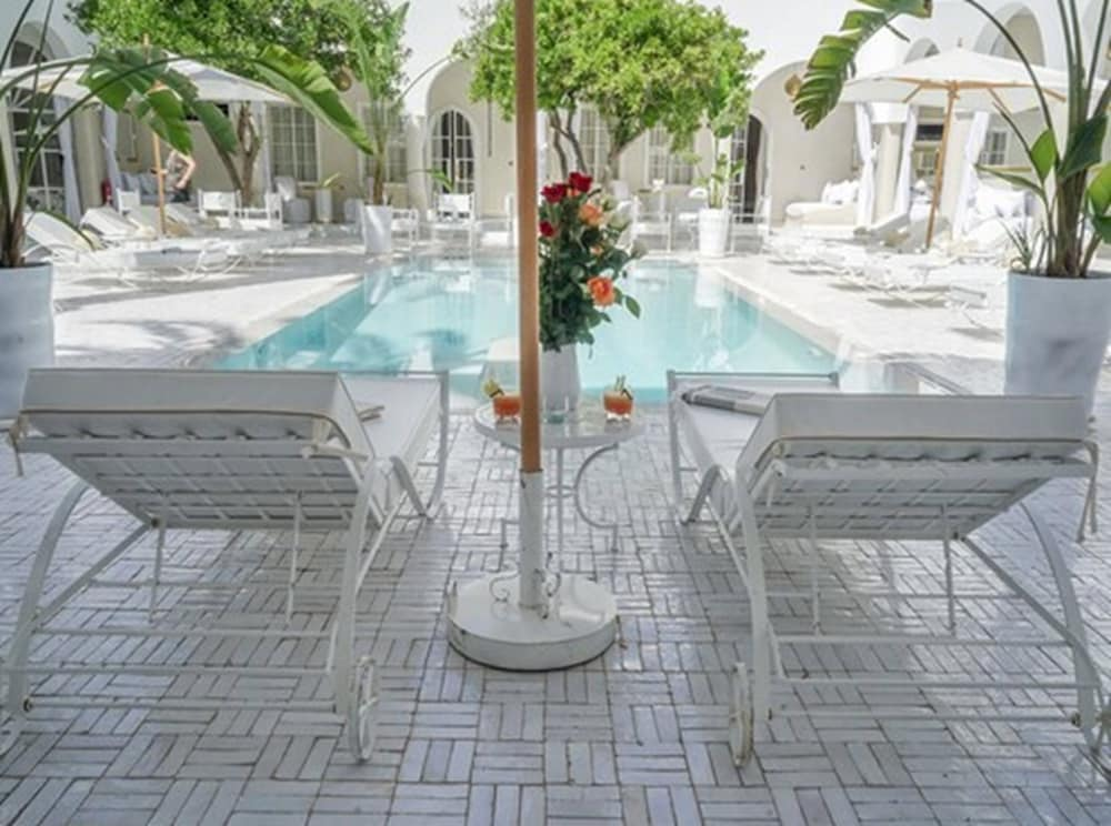 Outdoor Pool, Riad Palais Blanc