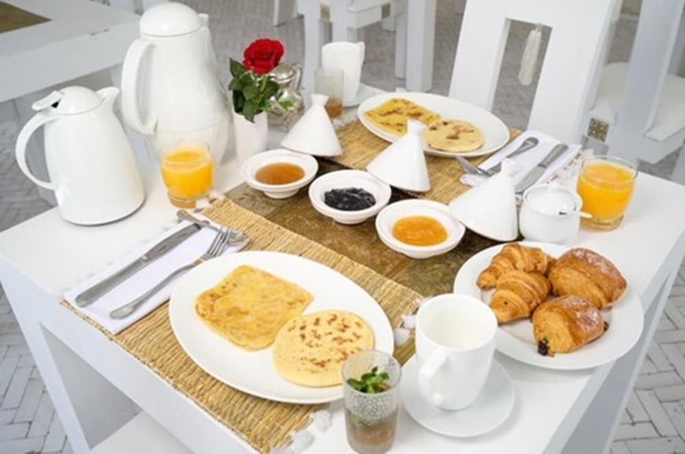 Breakfast Meal, Riad Palais Blanc