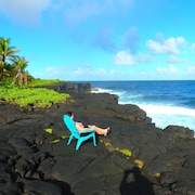 Live the Ocean Front Dream - Perfect Location for Exploring the Big Island ?