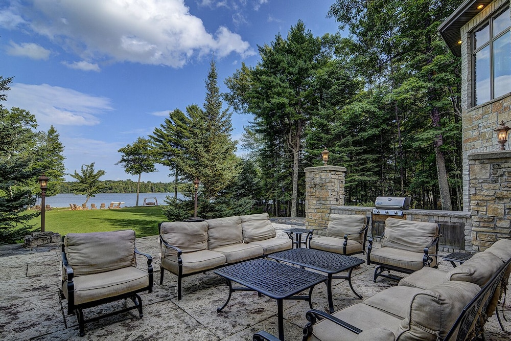 Terrace/Patio, Top 10 Home On World's Largest Chain of Lakes! Featured On Travel Wisconsin!