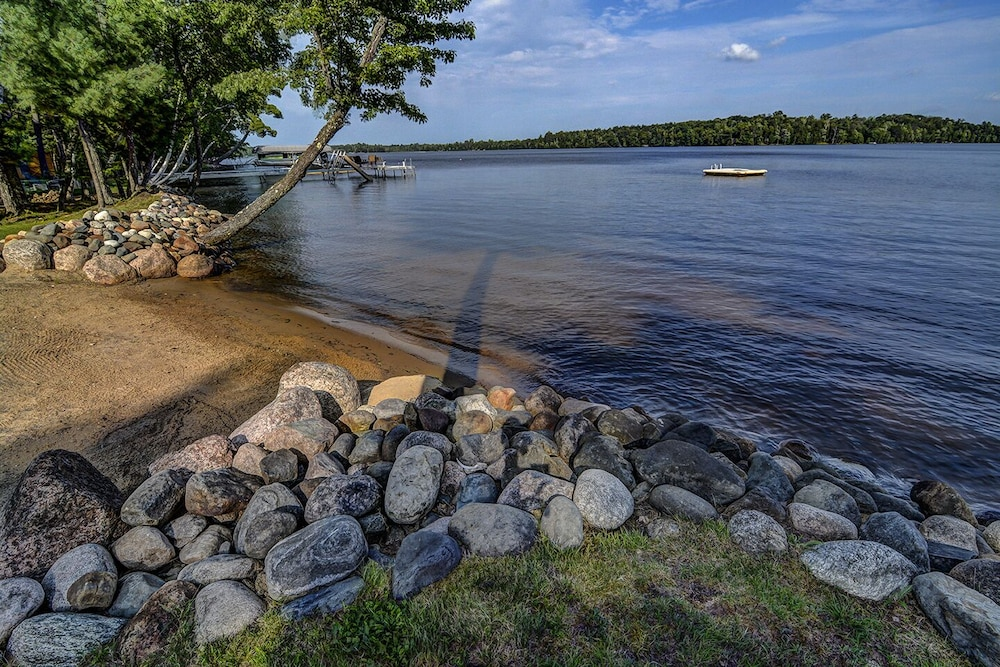 Beach, Top 10 Home On World's Largest Chain of Lakes! Featured On Travel Wisconsin!
