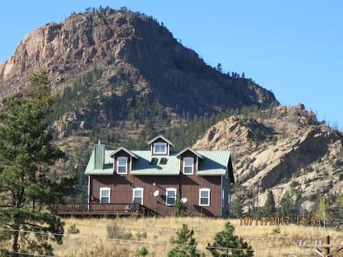 Great Place to stay Real Colorado Off Beaten Path On 80 Acres With A View Of Pikes Peak near Colorado Springs