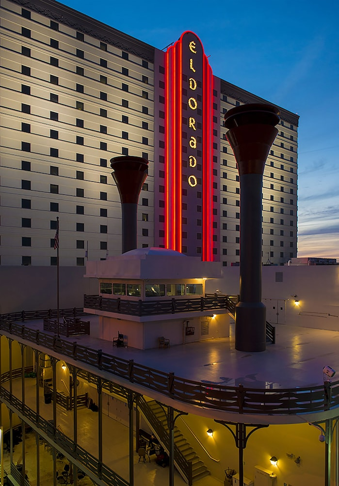 Exterior detail, Eldorado Resort Casino Shreveport
