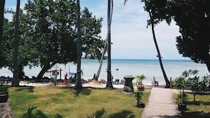 Plage à proximité, sable blanc, bar de plage