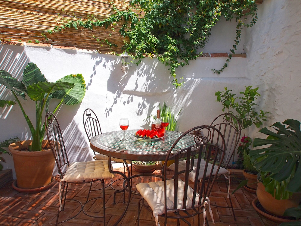 El Patio De Lola An Andalusian Village House With Green