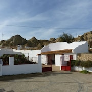 Troglodyte House With Large Patio and Barbecue; Private and Closed Parking
