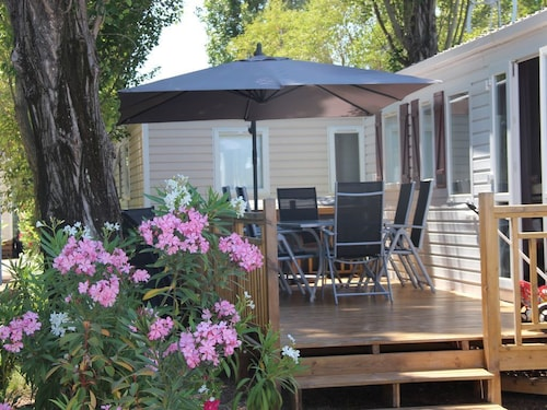 Mobile Home Elegance Village 4 **** - Fully Equipped, 3 Swimming Pools Including 1 Heated spa