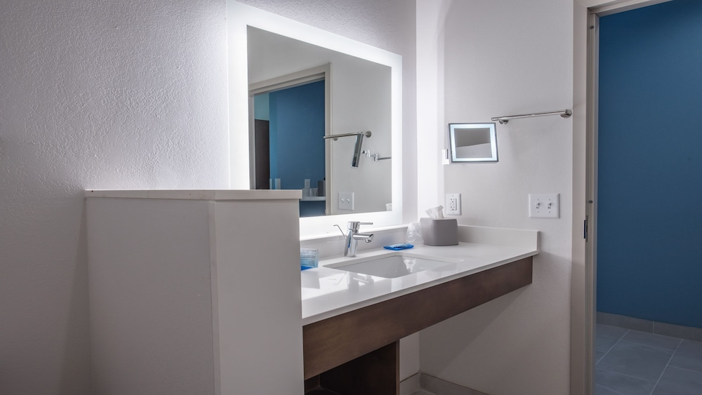 Bathroom, Holiday Inn Express & Suites-Dripping Springs - Austin Area, an IHG Hotel