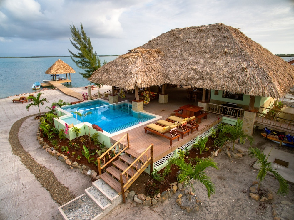 Pool, Little Harvest Caye- Private Island