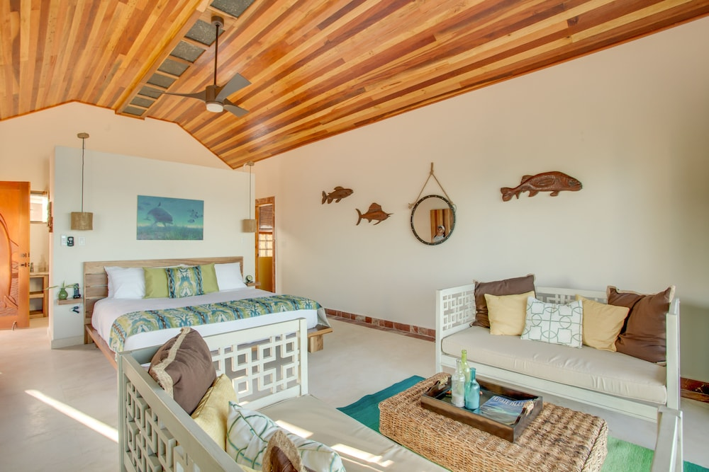 Room, Little Harvest Caye- Private Island