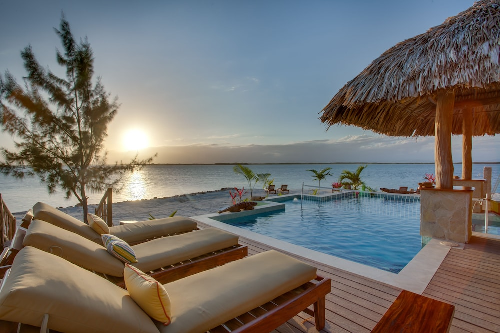 Sundeck, Little Harvest Caye- Private Island