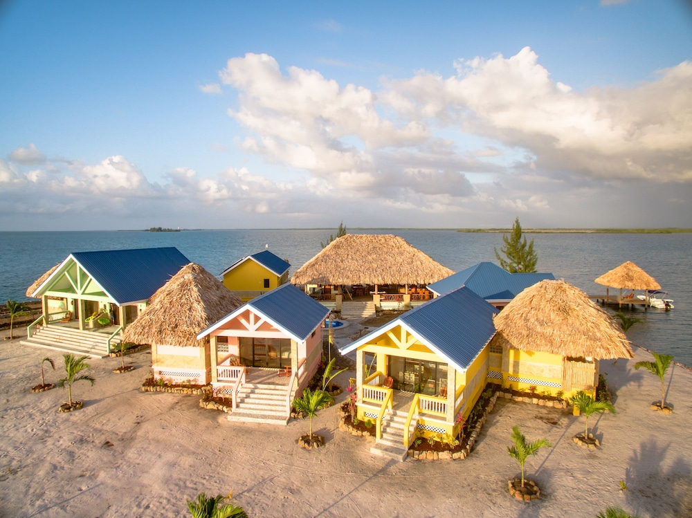 Exterior, Little Harvest Caye- Private Island
